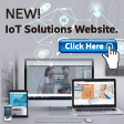 Launch new website <br>for IoT solutions!