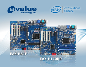 Avalue introduces ATX industrial motherboards, EAX-H81P and EAX-H110KP, based on Intel Core family processors