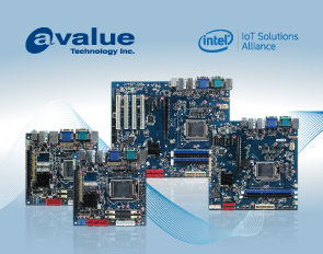 Avalue introduces EAX-Q170KP, EAX-C236KP, ERX-H110KP, EMX-Q170KP, EMX-H110KP Industrial motherboards, based on the 7th generation Intel® Core™ processor family