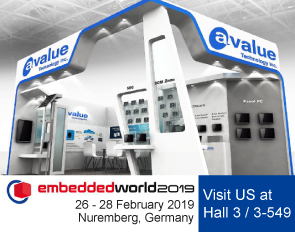 Meet Avalue at Embedded World 2019 in Nuremberg