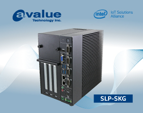 Avalue introduces SLP-SKG, an expandable Fanless slot PC based on 6/7th Gen Intel® Core™ SoC i7/i5/i3 & Celeron® Processors
